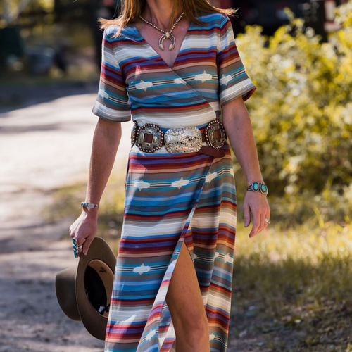 Braunfels Serape Dress