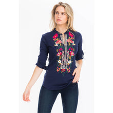 Load image into Gallery viewer, Lajitas Embroidered Blouse