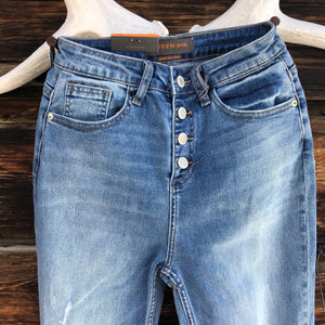Dolly Button Fly Jeans