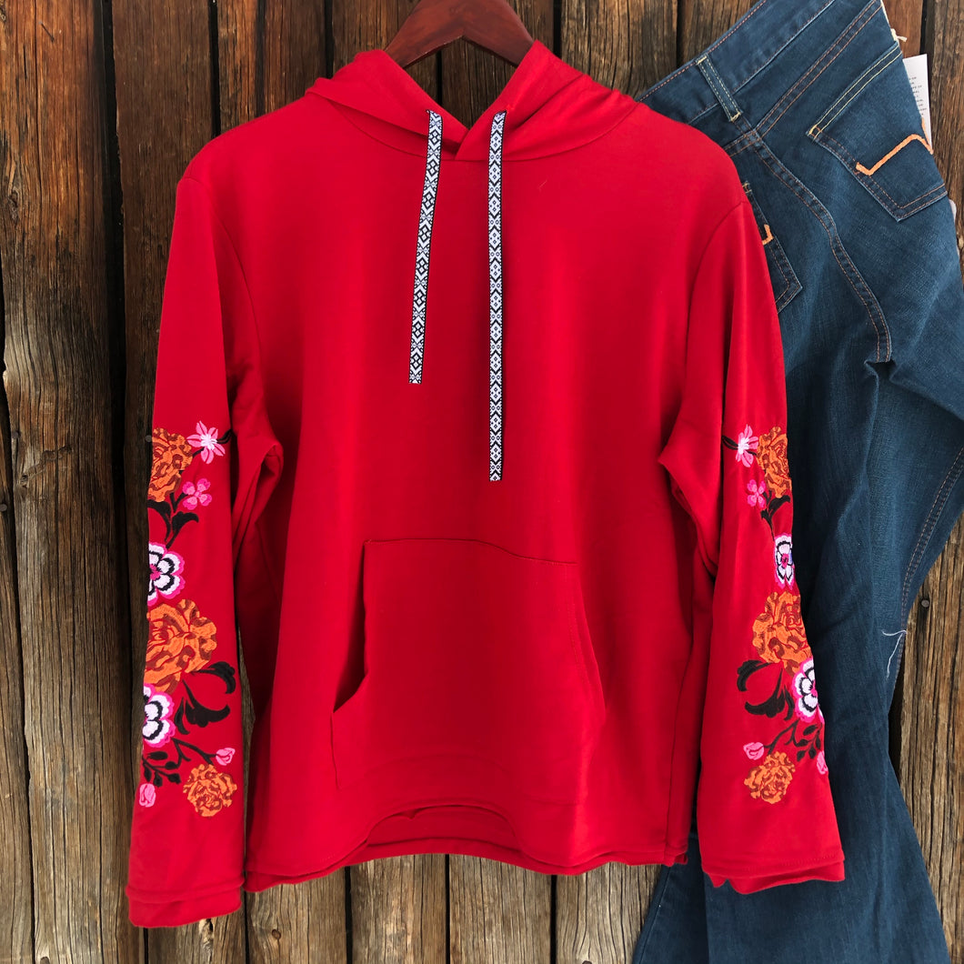 Childress Embroidered Pullover