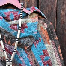 Load image into Gallery viewer, Santa Fe Fringe Poncho