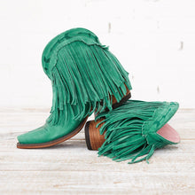 Load image into Gallery viewer, Lane Junk Gypsy Spitfire Boot in Turquoise - Rural Haze