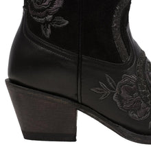 Load image into Gallery viewer, Junk Gypsy Charmer Boot in Soft Black Suede/Jet Black