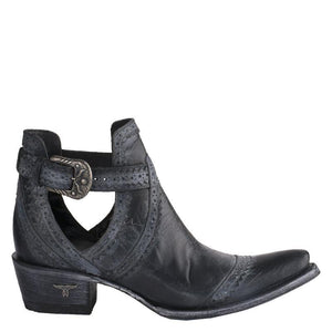 Lane Cahoots Ankle Boots in Black - Rural Haze