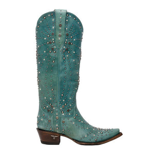 Lane Sparks Fly Boots in Turquoise - Rural Haze