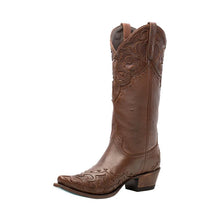 Load image into Gallery viewer, Lane Lilly Boot in Deep Brandy