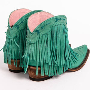 Lane Junk Gypsy Spitfire Boot in Turquoise - Rural Haze
