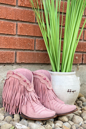 Lane Junk Gypsy Spitfire Boot in Rose