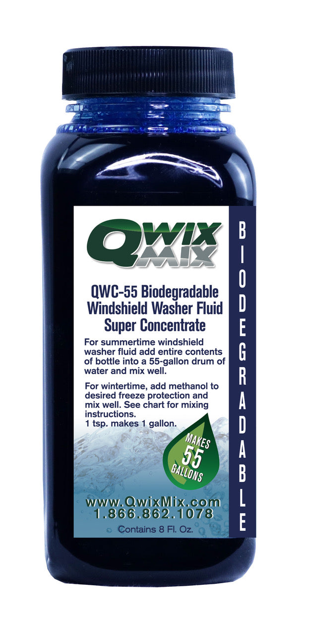 QWC-55 Biodegradable Windshield Washer Fluid Concentrate