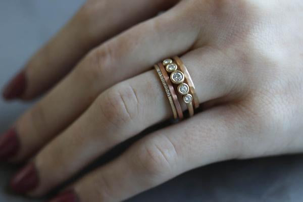 Ring Stacking-Newest tend in the Fashion Industry