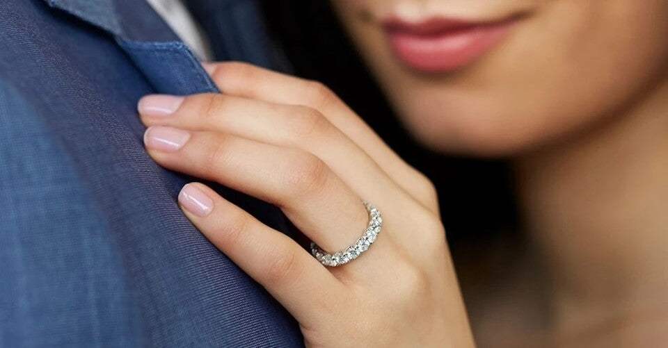 The Moissanite Jewelry Store - Eternity Ring