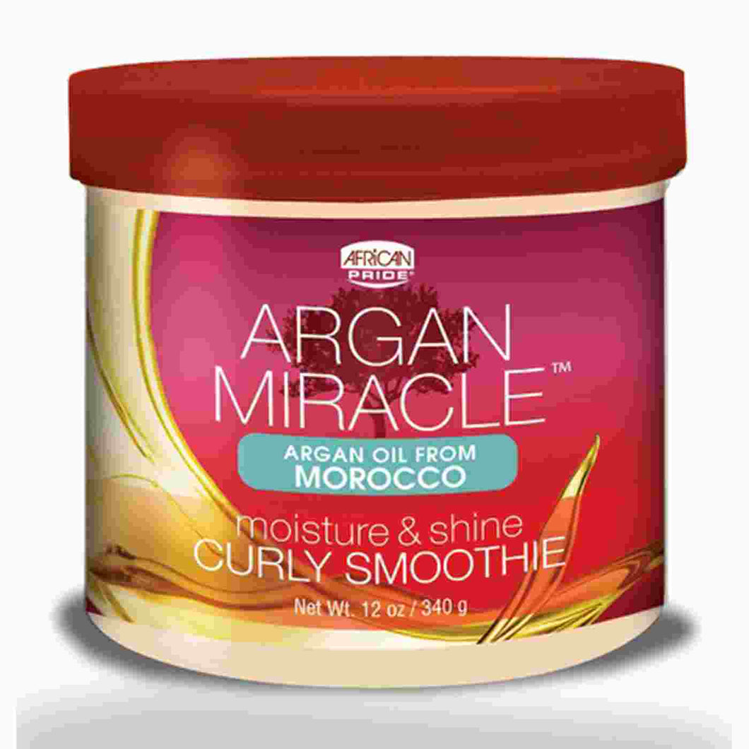 African Pride Argan Miracle Curly Smoothie 340g