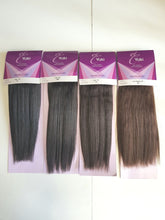Load image into Gallery viewer, EI Yaki 100% Human Hair Extensions Yaki 10""
