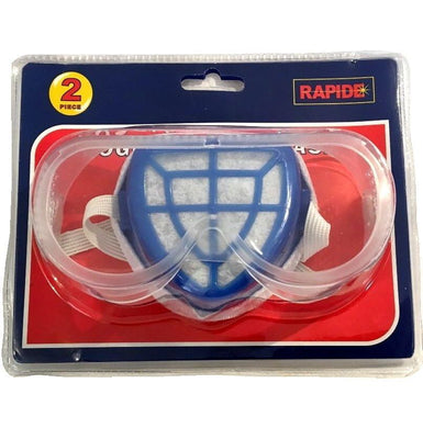 Rapide Safety Goggles and Dust Mask