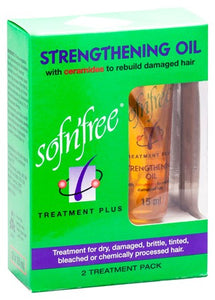 Sofn'Free Strengthening Oil 2 Treatment Pack