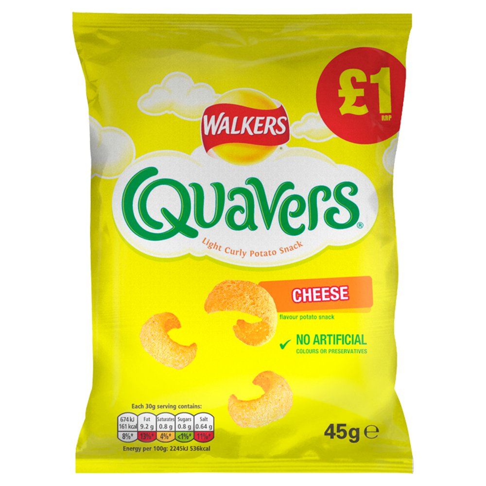 Walkers Quavers Cheese 45g