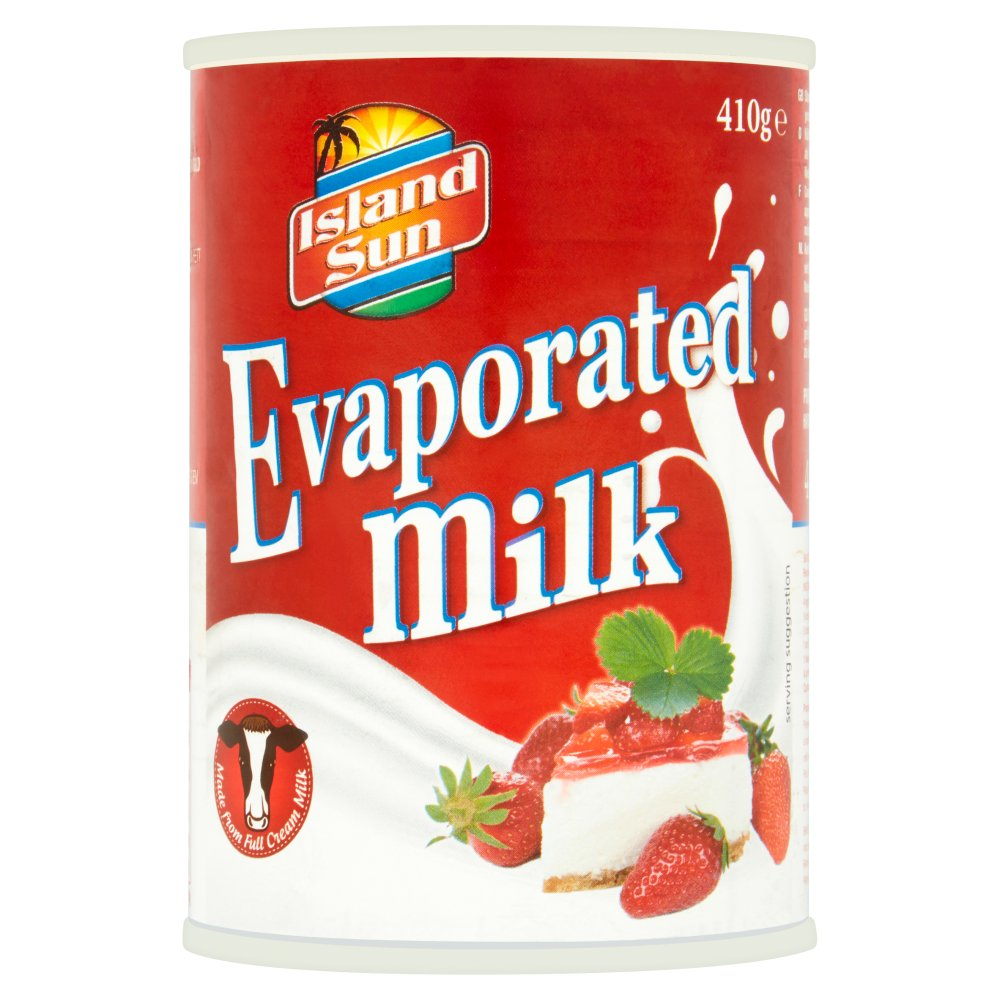 Island Sun Evaporated Milk 410g