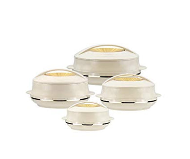 Olympic Gold 4Pc Insulated Casserole