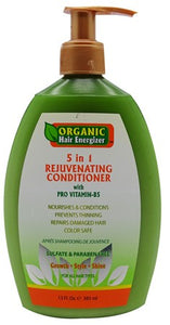 Organic Hair Energizer 5 in 1 Rejuvenating Conditioner 385ml