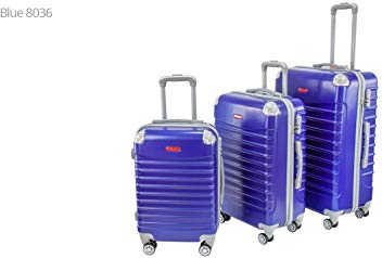 Blue Hard Shell Suitcase 28