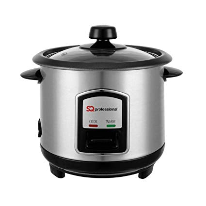 Lustro Stainless Steel Rice Cooker