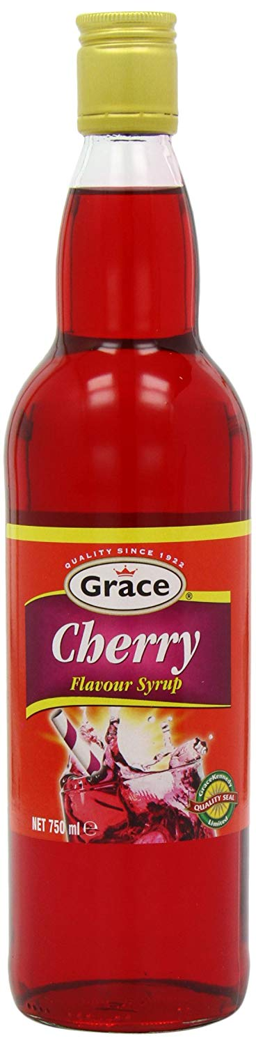 Grace Cherry Flavour Syrup