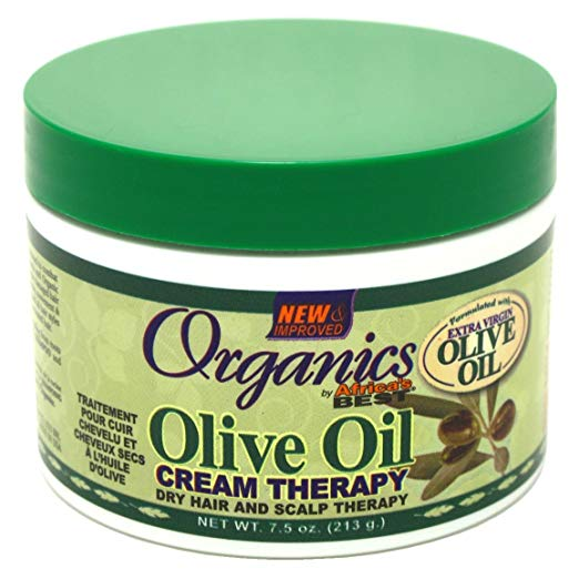 Africa's Best Organics Olive Oil Cream Therapy 213g