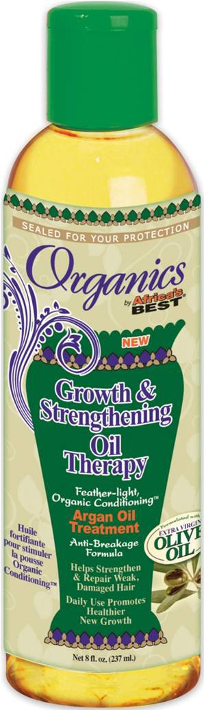 Africa's Best Organics Growth & Strengthening Oil Therapy 237ml