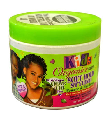 Kids Organics Soft Hold Styling Pomade & Hairdress 114g