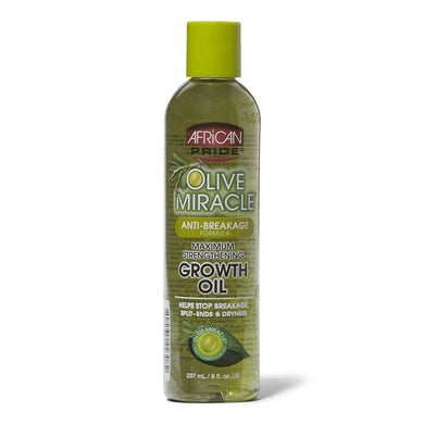 African Pride Olive Miracle Growth Oil 237ml