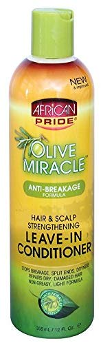 African Pride Olive Miracle Leave In Conditioner 355ml