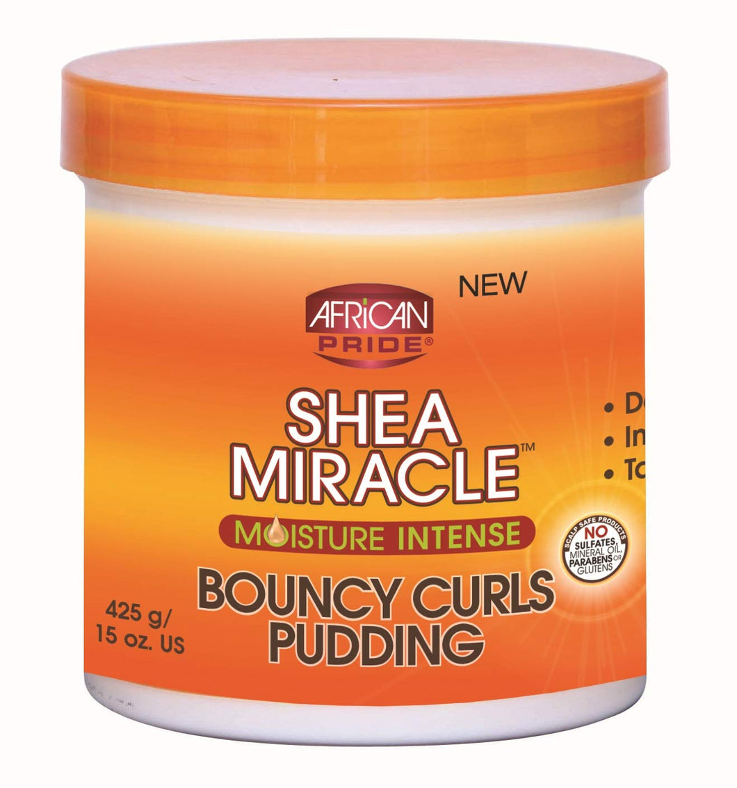 African Pride Shea Miracle Bouncy Curls Pudding 425g