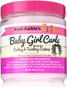 Aunt Jackie's Baby Girl Curls Curling & Twisting Custard 426g