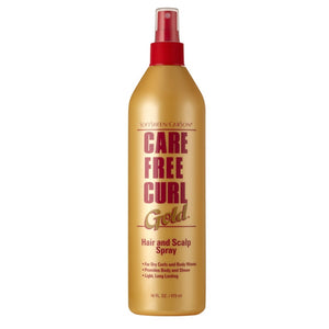 Softsheen Carson Care Free Curl Gold Hair and Scalp Spray 473ml