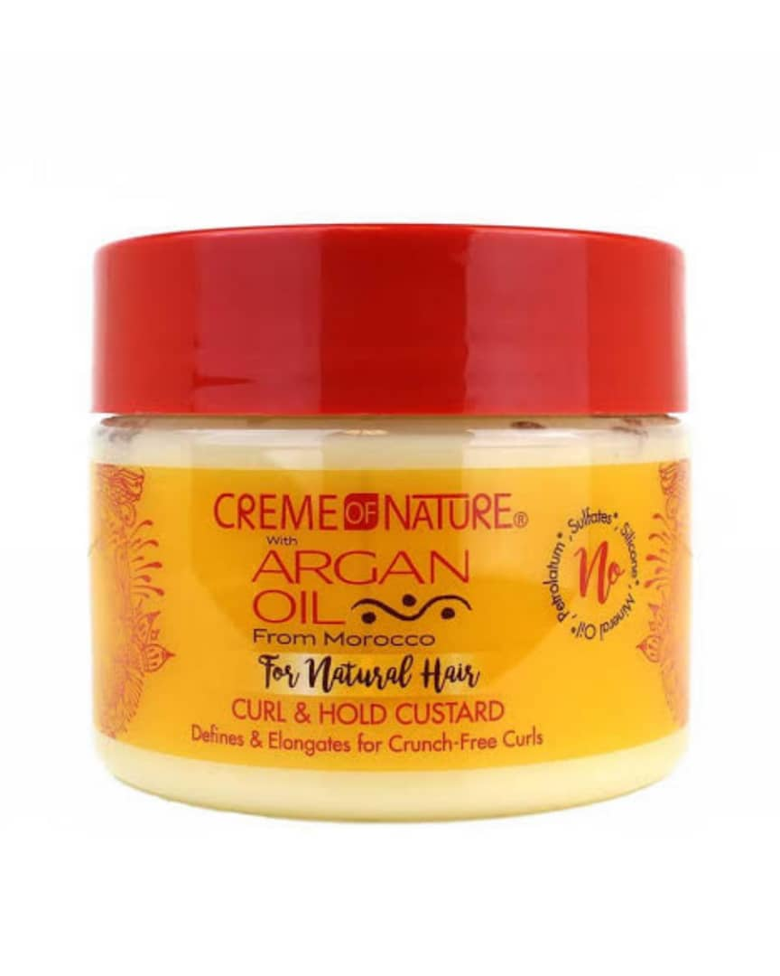 Creme Of Nature Argan Oil Curl & Hold Custard 326g