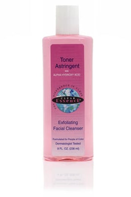 Clear Essence Toner Astringent Exfoliating Facial Cleanser 236ml