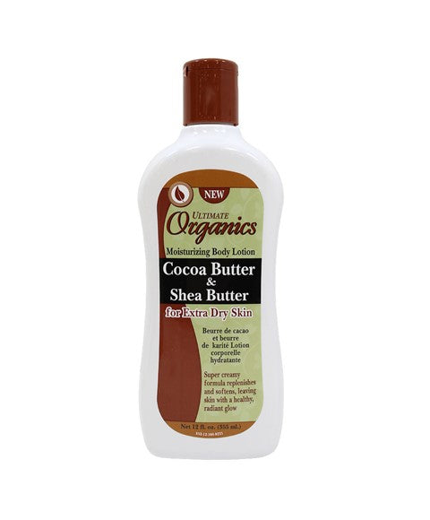 Ultimate Originals Cocoa Butter & Shea Butter Moisturizing Body Lotion 355ml