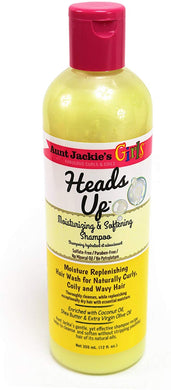 Aunt Jackie's Heads Up Moisturizing & Softening Shampoo 355ml