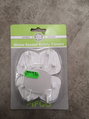Mains Socket Safety Covers