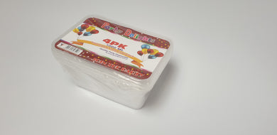 Party Delights Plastic Containers