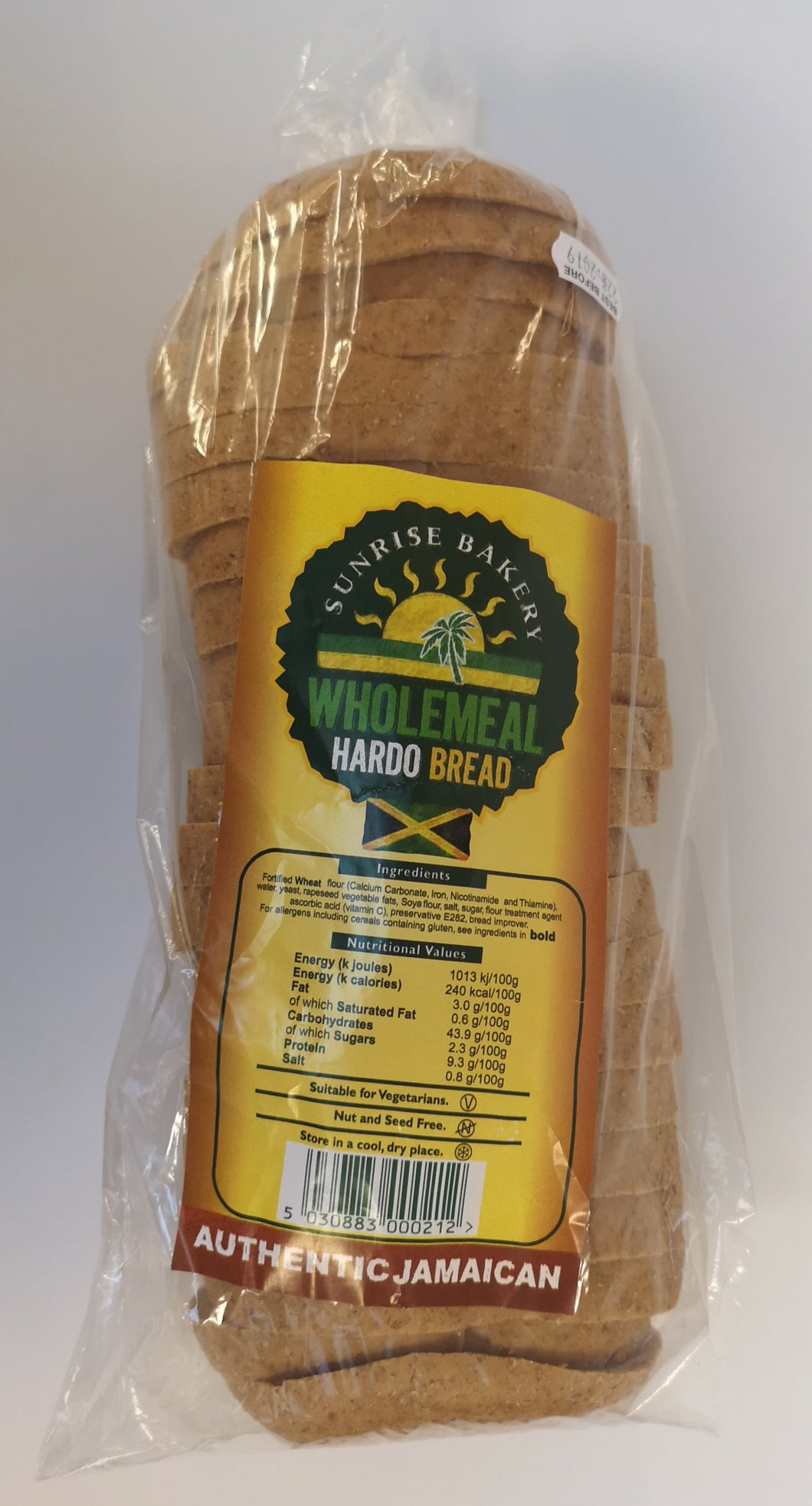 Sunrise Bakery Wholemeal Hardo Bread