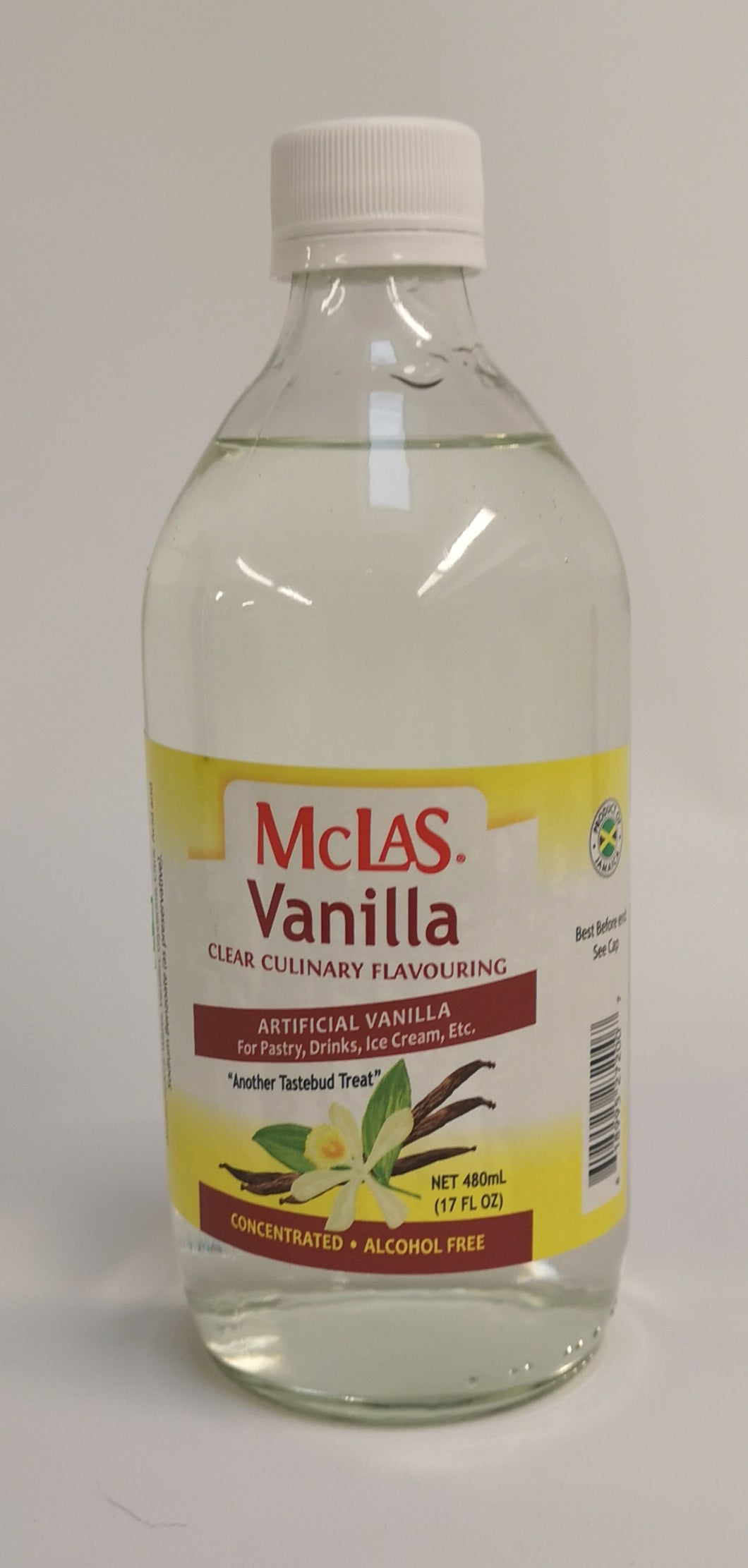 McLas Vanilla Clear Culinary Flavouring