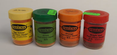 Preema Food Colour Powder