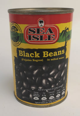 Sea Isle Black Beans in Salted Water