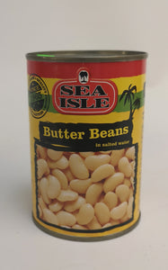 Sea Isle Butter Beans in Salted Water