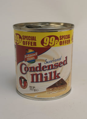 Island Sun Sweetened Condensed Milk