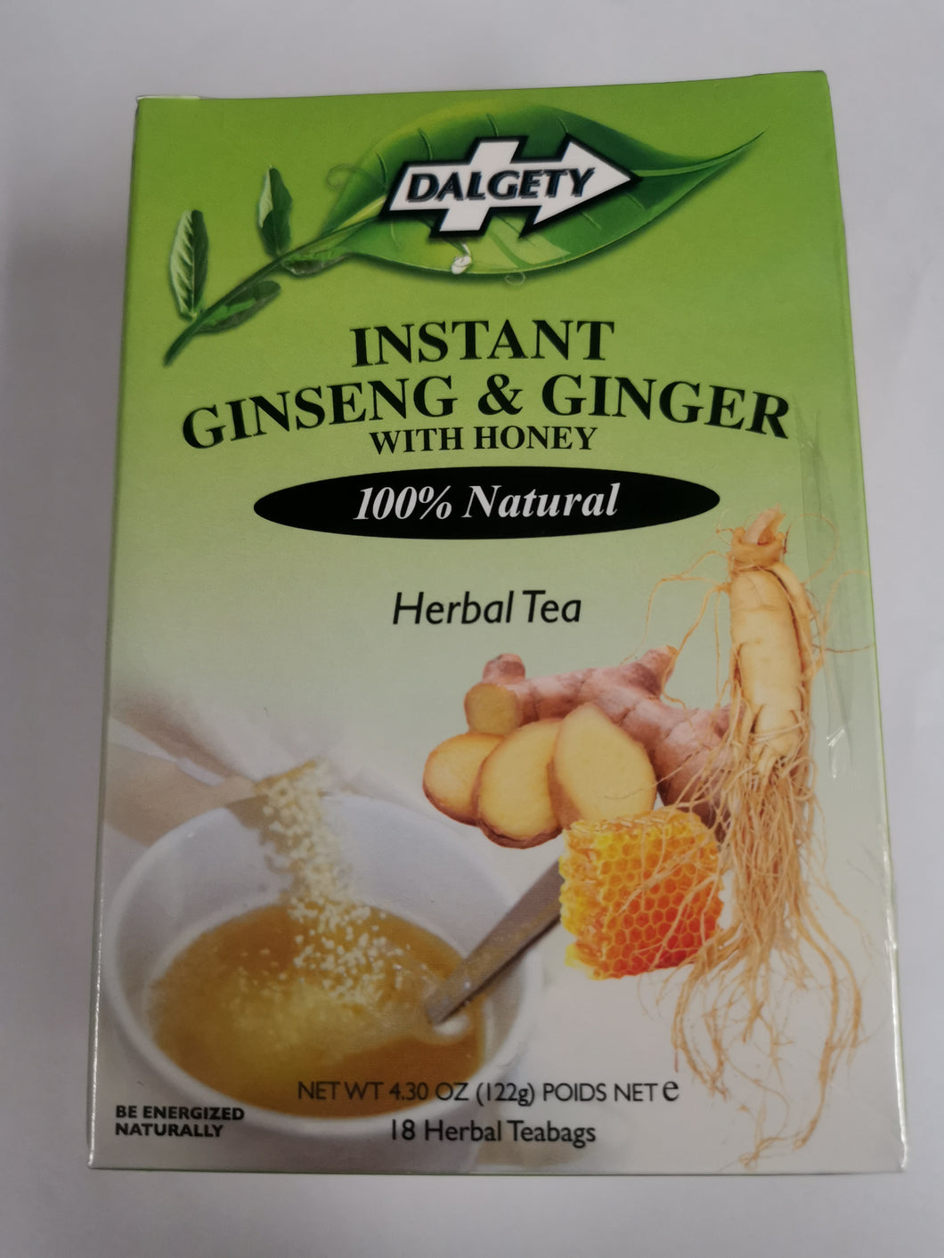 Dalgety Instant Ginseng & Ginger with honey