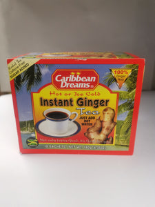 Carribean Dreams hot or ice cold Instant Ginger Tea