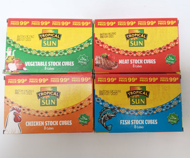 Tropical Sun Stock Cubes