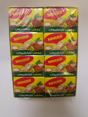 Maggi Vegetable Stock Cubes 432g